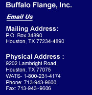 Buffalo Flange: Quality Split Flange Manufacturers in Houston